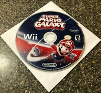 Super Mario Galaxy (Nintendo Wii, 2007) **Disc Only** Tested Working