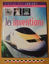 Atlas des juniors, les inventions, Atlas Jeunesse éditions, 30 pages