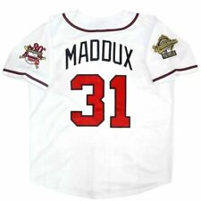 New listing Greg Maddux #31 World Series 1995 Jersey - White