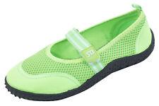 Womens Aqua Water Shoes Beach Pool Yoga Dance  Hook and Loop Slip