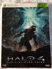 HALO 4 XBOX 360 OFFICIAL GAME STRATEGY GUIDE BOOK + NUMBERED PIC (USED)