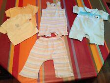 Ensemble 6m pantalon tshirt NOUKIES, TCF, OBAIBI, H&M, combinaison grenouillère