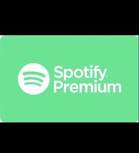 Spotify Premium Giftcards (1 year)