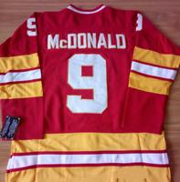 Calgary Flames Red Lanny McDonald Jersey M, L, XL, XXL, 3XL