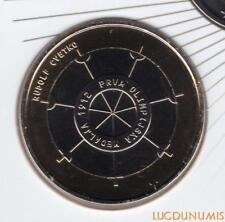 Slovénie 2012 3 Euro BU FDC 1er Médaille Gagnée Jeux Olympique provenant du coff