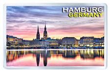 HAMBURG GERMANY MOD6 FRIDGE MAGNET SOUVENIR IMAN NEVERA
