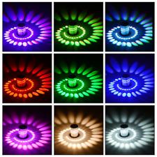 3 Вт Rgb светодиодная, настенная лампа бра спираль потолочная лампа светильник лампа домашний караоке бар Деко
