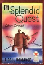 The Splendid Quest -Edison Marshall 1934 Dell #188- Mapback