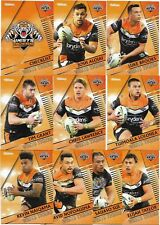 2018 NRL Traders WESTS TIGERS Team Set