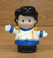 """Mattel 2013 Small 2 1/2"""" Prince Eric Little Mermaid PVC Little People Figurine"""