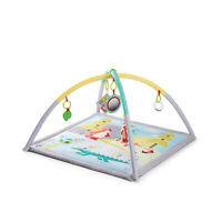 Kinderkraft Spieldecke MILY Erlebnisdecke Spielmatte mit Spielbogen Krabbeldecke