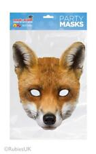 Fox Mask Animal Full Face card woodland party novelty gift school book day Dahl