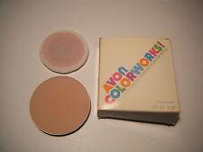 Vintage Avon Colorworks  Absorbing Pressed Powder refill Translucent 0.5 oz