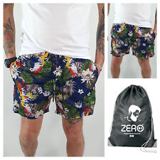 Costume Da Bagno Uomo Da Mare Floreale Fiori Estivo Bermuda Boxer Pantaloncino