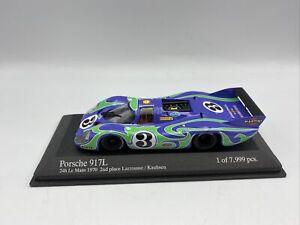 1/43 Minichamps 1970 Hippie Porsche 917L LeMans Larousse Kauhsen  # 400706103