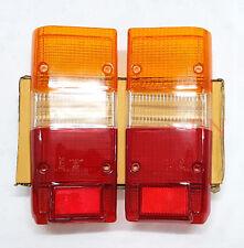 Toyota Landcruiser Tail Light Lens 60 Series Left & Right Rear Pair FJ60 80/84