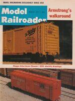 """[75415] """"MODEL RAILROADER"""" MAGAZINE - MARCH, 1971, Vol. 38, No. 3"""