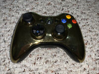 OEM Microsoft Xbox 360 Wireless Gold Chrome Controller Tested Official