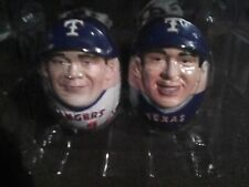 Hank Blalock Mark Teixeira Texas Rangers MLB Weeble Wooble BD&A Dr.Pepper Set