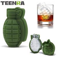 TEENRA Moule a glaçon en forme de Grenade en Silicone