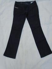 Ladies Diesel ROKKET Wash 00AA8 Straight Leg Slim Strecth Blue Jeans 10 30/32