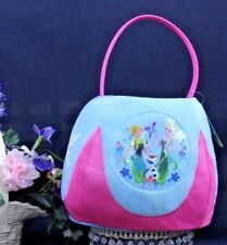 Easter DISNEY FROZEN JUMBO Basket & Bonus Teal & Pink NEW Elsa & Anna  3+ I-23