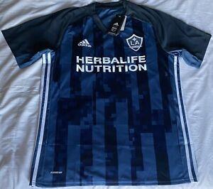 Adidas LA Galaxy Aeroready Away Soccer Jersey. Adult Size: Large