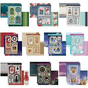 Hunkydory Christmas Card Making Kits - Christmas Sparkle - Choice of Topper Sets