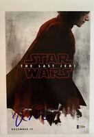 "Rian Johnson Signed ""Star Wars: The Last Jedi"" 8x10 Photo (Beckett COA)"