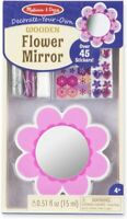 Melissa and Doug Decorate-Your-Own Wooden Flower Mirror - (BNIB) - 18849