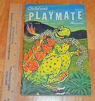 Vintage Children's Playmate Magazine March 1973 Stories Puzzles Crafts