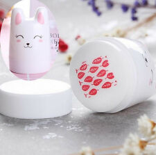 BORN PRETTY Nail Art Bunny Stamper Cute Rabbit Silicone Head with 2 Scraper
