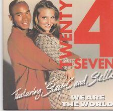 Twenty 4 Seven-We Are The World cd single