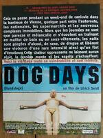 Poster Dog Days Ulrich Seidl 40x60cm