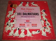 1965 101 Dalmatians 33 1/3  long playing record 24 page book #305