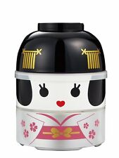 HAKOYA Lunch Bento Box 52093 Big Kokeshi Doll Maihime Dancer Bowl MADE IN JAPAN