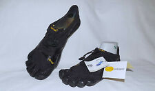 FIVE FINGER Vibram KSO EVO Sport Contour Shoes-Size 41 Adjustable-Run Small-NEW!