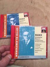 Wagner:Orchestral Music I & II WG Sonopress CD Angel EMI Klemperer 1990 1&2