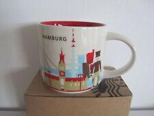 Starbucks HAMBURG City Mug YAH Tasse * you are here 14oz NEW