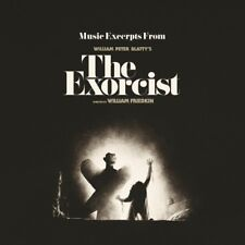 EXORCIST Original Motion Picture Soundtrack CLEAR/SMOKE VINYL LP Record score!!!