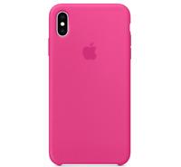 Echt Original Apple iPhone XS Silikon Hülle Silicone Case Drachenfrucht PINK