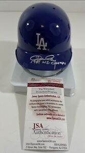 "Ron Cey Signed Mini-Helmet ""1981 WS Champs"" JSA W738943"