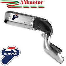 Termignoni Ducati Hypermotard 821 Pot D' Echappement Moto Titane High Approuvè