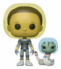 Funko Pop! Animation: Rick and Morty - Space Suit Morty with Snake Vinyl Figure