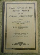 Games Played in the Return Match for the World's Championship, Between Alexander
