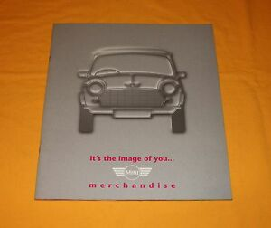 Mini Cooper Merchandise 1996 Prospekt Brochure Depliant Catalog Prospetto