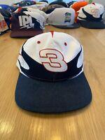 Vintage Dale Earnhardt Sr NASCAR Racing Nutmeg Splash Snapback Hat #3 NEW