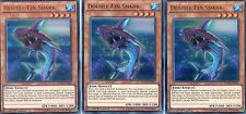YUGIOH CARD - 3 X DOUBLE FIN SHARK -  DUELIST SAGA   DUSA-EN001