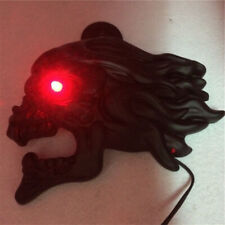 """Black Zombie horn cover w/ LED For 92-16 Harley """"cowbell"""" and all V-rod's"""