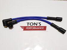 Blue Taylor Spark Plug Wires Harley 95-03 Sportster 883 1200 Coil Relocation